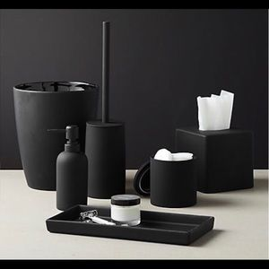 CB2 soap dispenser and canister